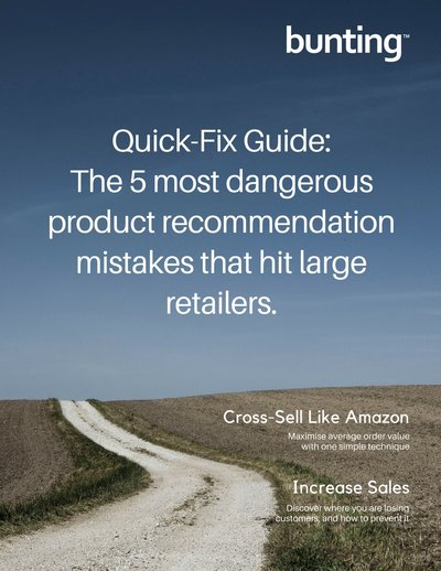 The 5 most dangerous product recommendation mistakes that hit large retailers